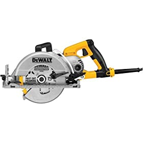 DEWALT DWS535T  7-1/4-Inch Worm Drive Circular Saw with Twistlock Plug