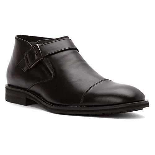 Joe's Jeans Men's Aaron Chelsea Boot, Black, 11 M US