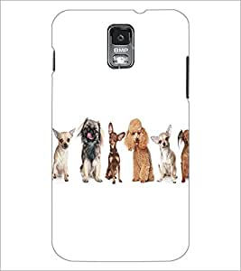 SAMSUNG GALAXY S5 MINI CUTE ANIMALS Designer Back Cover Case By PRINTSWAG