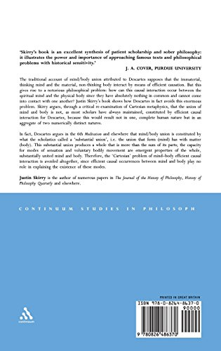 Descartes and the Metaphysics of Human Nature (Continuum Studies in Philosophy)