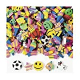Mini Eraser Assortment (500 Pieces)