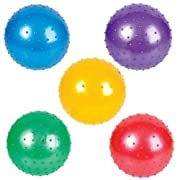 Glitter Knobby Balls 5'' (5 Pack - Great for the Pool or Tub)