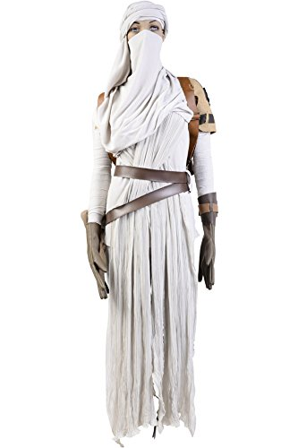 Star Wars Costumes For Women The Force Awakens Rey Cosplay Costume