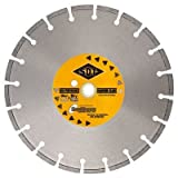Cured Concrete Laser Weld Segmented Blades Size/Type: 12″ x .11″ / Premium, Cutting Type: Cutting Abrasive Materials, Fast Cuts and Long Bla