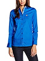 POLO CLUB Camisa Mujer Maitino (Azul Royal)