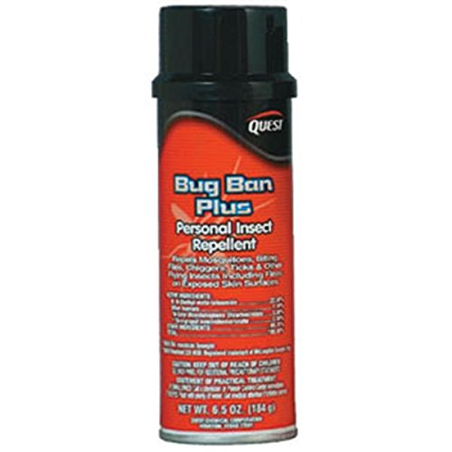 Quest Specialty 458001 Bug Ban Plus Insect Repellent, 6.5 oz Aerosol (Quest Bug Ban compare prices)