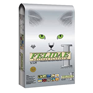 Felidae Dry Cat Food for Senior and Overweight Cats, Platinum Formula, 4 Pound Bag