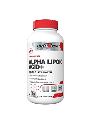 Alpha Lipoic Acid( ALA) is a powerful antioxidant and a safe drug in preventing fat storage.  It is a potent insulin mimicker which facilitates enhanced glucose uptake from carbohydrate rich foods. This helps in nutrient partitioning making the incidence of conversion of carbs into body fat lower. This product also has added chromium for further enhancing the insulin sensitising action.  To sum up, the benefits that can be derived from this product are:-  . Better glucose metabolism . Prevents carb to fat conversion . Insulin mimicker . With added chromium for further enhancing insulin sensitivity