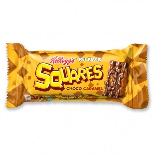 Kelloggs Squares Choco Caramel Menge:36g