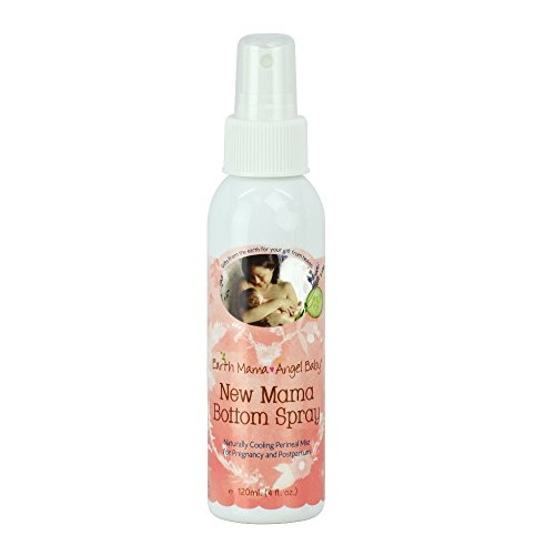 Earth Mama-Angel Baby Organic New Mama Bottom Spray, 4 fl oz (120 ml) - 1
