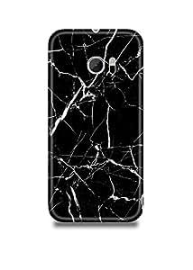 Black & White Marble HTC M10 Case-2268