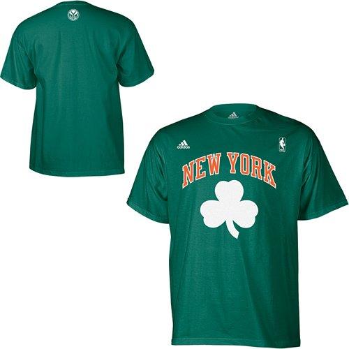 70910ee02 adidas New York Knicks St. Patrick's Day