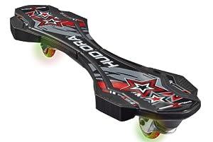 HUDORA Skateboards Huxx 2.0 LED, ABEC 7, Schwarz, 12004