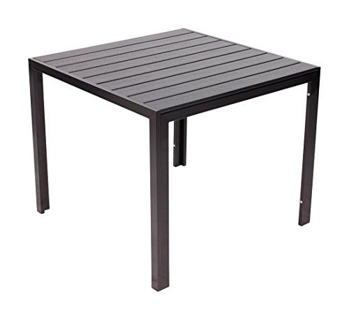 Vanage-Esstische-Polywood-Alu-Gartentisch-mit-Aluminiumgestell-90-x-90-Helsinki-schwarz