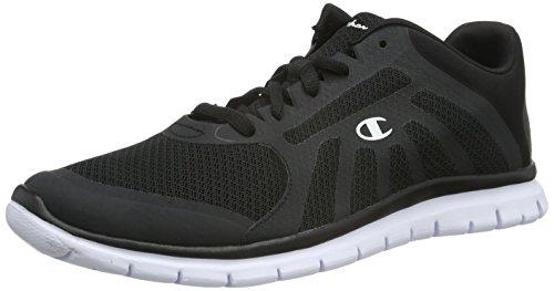 Champion - Low Cut Shoe ALPHA, Sneakers uomo, color Nero (New Black / White 2272), talla 45