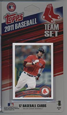 2011 Topps Limited Edition Boston Red Sox Baseball Card Team Set (17 Cards) - Not Available In Packs!!