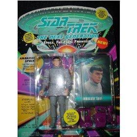 Star Trek The Next Generation Ambassador Spock 4 inch Action Figure