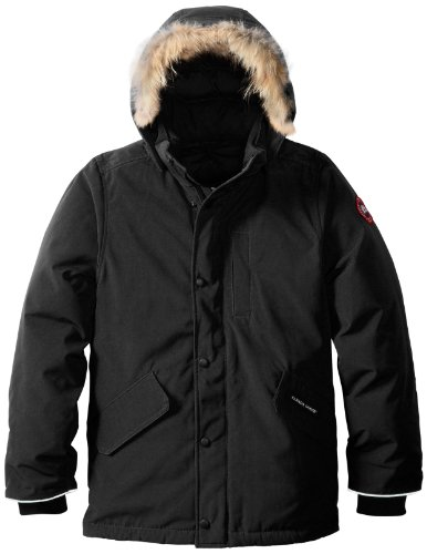 Canada Goose Youth Logan Parka, Black, Large (Canada Goose For Boys compare prices)