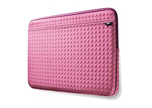 LaCie 130949 Formoa 3.5-Inch Portable Hard Drive and 10.2-Inch Netbook Carrying Case (Pink)