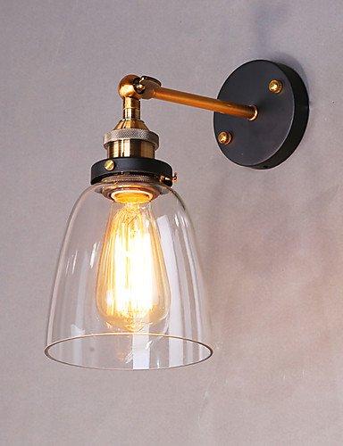 CinCin-Industrie-edison-Einfachheit-Glas-Wandleuchten-Metall-Bodenkappe-Esszimmer-Caf-Bars-Stehtisch-Flur-Leuchte-220v