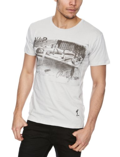 RELIGION LTD Hell of The Party Printed Men's T-Shirt Quicksilver Small