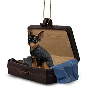 Amazon.com : Miniature Pinscher Tan & Black Traveling Companion