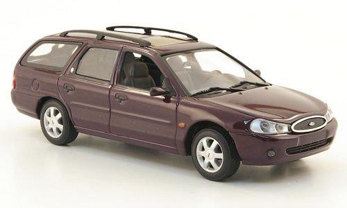 Ford-Mondeo-Turnier-dkl-blau-1997-Modellauto-Fertigmodell-Minichamps-143