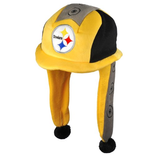 NFL Pittsburgh Steelers Thematic Mascot Dangle Hat at Amazon.com
