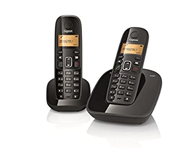 Gigaset A490 Duo Cordless Phone (Black)