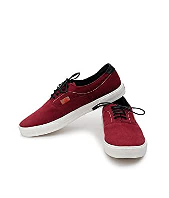 maroon canvas shoes s canvas shoes casual shoes
