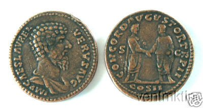 (DD S 65) Copper As of Lucius Verus COPY