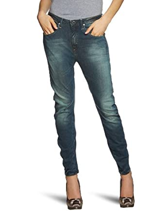 G-star - Jean - Tapered Fit - Femme - Bleu (Dk Aged - 89) - FR : 25W/30L (Taille fabricant : 25/30)