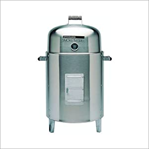 Brinkmann Smoke'N Grill Stainless Steel Charcoal Smoker & Grill