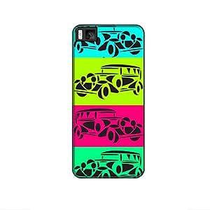 Vibhar printed case back cover for Xiaomi Mi 4i 4Cars