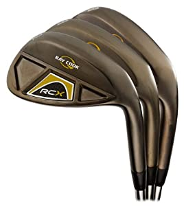 Ray Cook Golf RCX Black Nickel 3-Wedge Set by Ray Cook