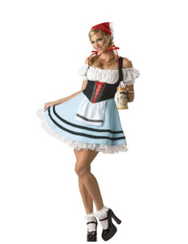 Oktoberfest Girl Medium Halloween Costume - Adult Medium