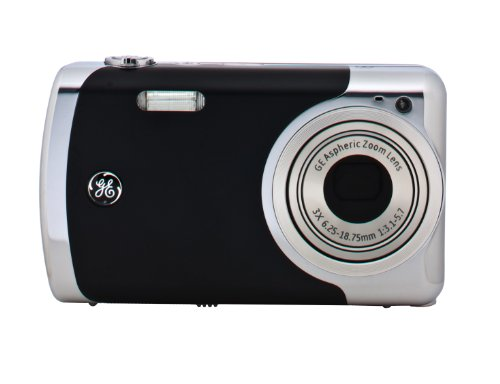Ge Cre00-Bk Create By Jason Wu 12Mp Digital Camera With 3X Optical Zoom And 2.7-Inch Lcd (Black Metal) front-177313