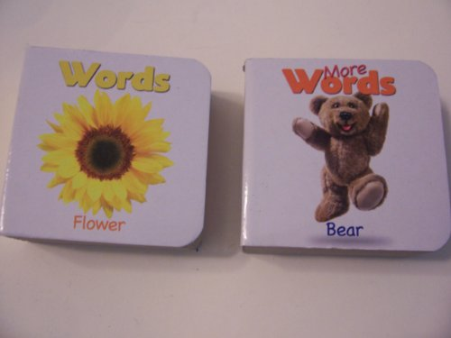 "Educational Books For Kids ~ Set of 2 ""1st Book of Words"" (Words, More Words)"