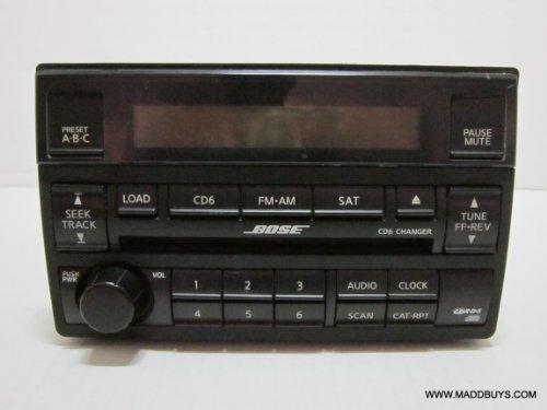 04 05 Nissan Altima Bose 6 Cd Player Radio