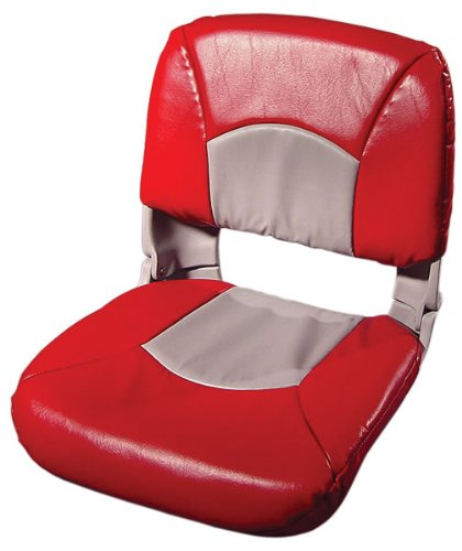 Tempress All Weather High Back Gray Seat/Red/Gray Cushion