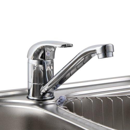 BEIYI 13.01.02 Dragon Chrome Kitchen Sink Mixer Tap Faucet UK