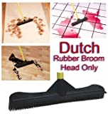 "Electrostatic 12"" Rubber Bristle Brush/Squeegee - Head Only"
