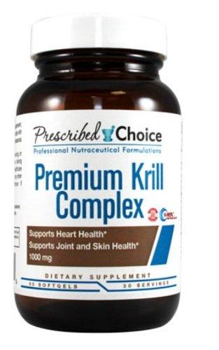 Prescribed Choice Premium Krill Complex Soft Gels, 60 Count
