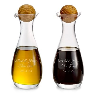 Personalized Oil & Vinegar Bottles front-286751
