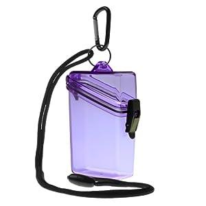 WITZ Keep it Clear Waterproof Sports Case, Purple