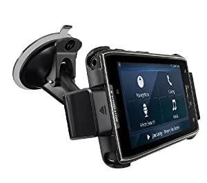 Motorola DROID RAZR MAXX Vehicle Navigation Dock with Rapid Vehicle Charger - Non-Retail Packaging - Black