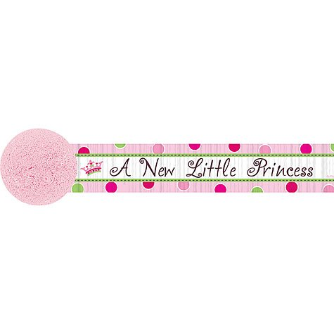 AMSCAN INC. Little Princess Crepe Streamer