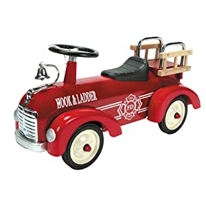 Schylling Metal Speedster-Fire Truck