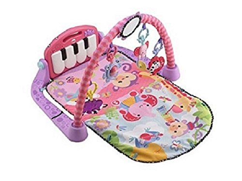 Fisher-Price Kick and Play Piano Gym, Pink Image