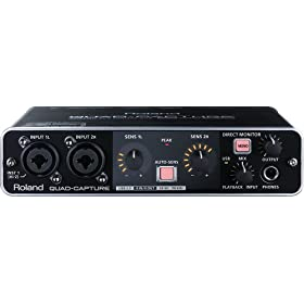 Roland USB Audio Interface QUAD-CAPTURE UA-55